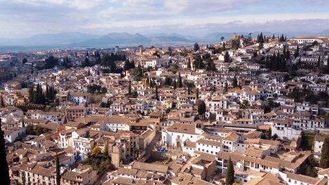 granada town visit anadlucia spain self-guided walking holiday